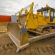 Stock Photo: Heavy building bulldozer