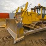 The heavy building bulldozer — Stock Photo #1523537