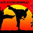 Royalty-Free Stock Photo: MARTIAL ARTS - KARATE KYOKUSHINKAI
