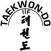 Martial art - TAEKWONDO — Stock Vector