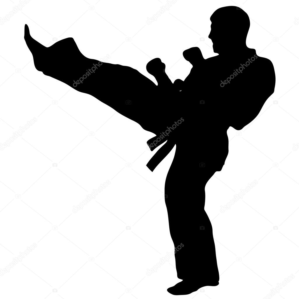 MARTIAL ARTS - KENDO, IAIDO, KARATE, TAEKWONDO, SAVAT, KICKBOXING, MUAI TAI,KUNG FU  Stock Vector #1773536