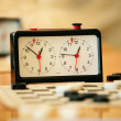 Old chess clock — Stockfoto