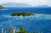 Marina Cay/British Virgin Islands — Stockfoto