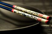 Chinese chopsticks — Stock Photo