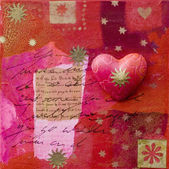 Heart artwork — Stock Photo