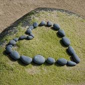 Stone heart — Stockfoto