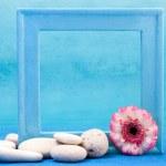 Blue frame — Stock Photo #1553128
