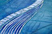 Artwork blue — Stock Photo