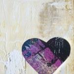 arte-final com coração — Fotografia Stock  #1582869