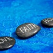 Stock Photo: Love faith hope