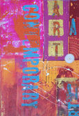 Abstraktní malba — Stock fotografie
