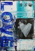 Malarstwo miłość — Zdjęcie stockowe