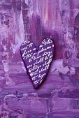 Pittura con cuore — Foto Stock