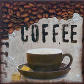 Coffee Illustration — Stockfoto