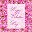 Valentines greetings — Foto Stock