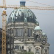 Berlin Cathedral/Berliner Dom with crane — Stock Photo