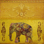 Elephant artwork — Stock Photo