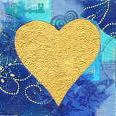 Valentine Heart Illustration — Stock Photo