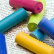 Stock Photo: Pastel chalk
