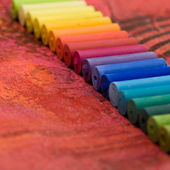 Pastel chalk — Stock Photo