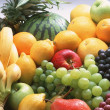 Stock Photo: Harvested Fruits