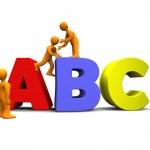 ABC 3D — Stock Photo #1524956