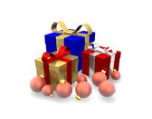 Gifts 3D — Stock Photo