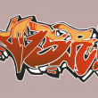 Stock Vector: Graffiti