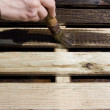 Royalty-Free Stock Photo: Spread the lumber