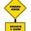 Royalty-Free Stock Vector Image: Finance Crisis - German Text