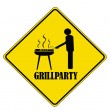 Grillparty — Stock Vector #1577063