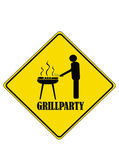 Grillparty — Stock Vector