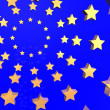 EU ABSTRACT STARS — Stock Photo