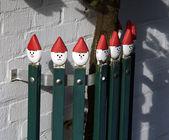 Fancy staket — Stockfoto