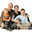 Happy family. — Stock Photo
