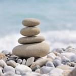 Pebble on a beach — Stock Photo