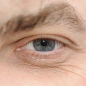 Eye of the man — Stock Photo