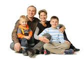 Happy family. — Stock Photo