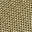 Texture metal - chain armour gold color — Stock Photo