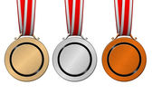 Medals olympic — Stock Photo