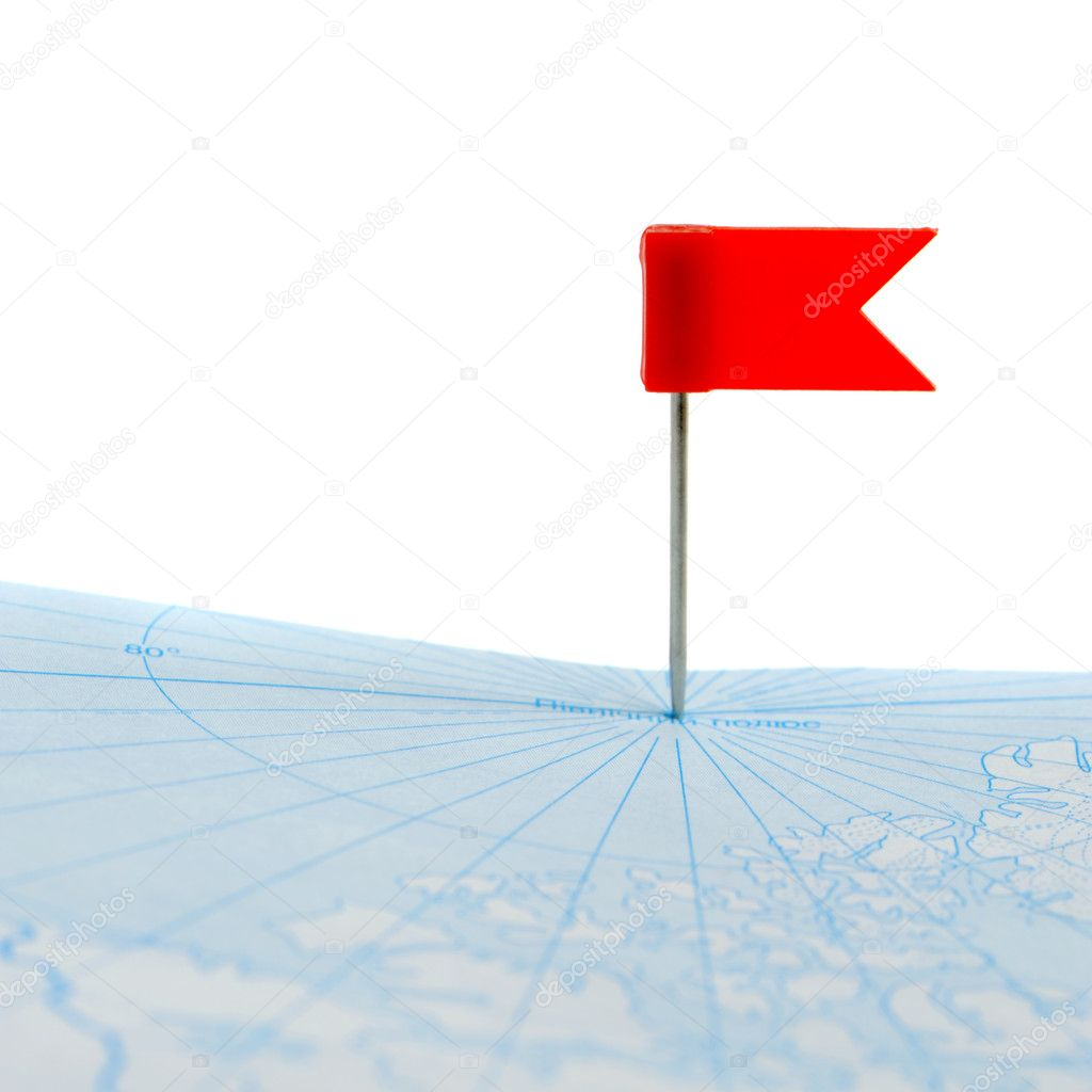 how to add a flag on google maps