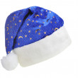 Hat Santa with ornament night sky — Stock Photo #2634254