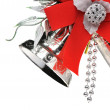 Stock Photo: Christmas handbells