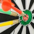 Board for darts. — Stock Photo