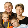 Happy family. - Stock Photo