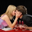 Stock Photo: Romantic supper