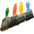 Brush for painting works - Stock Photo