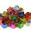 Set of gifts in boxes — Stock Photo #2641902