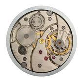 Il meccanismo di ore analogici — Foto Stock