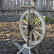 Stock Photo: Spinning-wheel